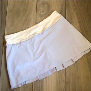 LULU Pace Setter Skirt 2 T Cool Breeze Nimbus Blue